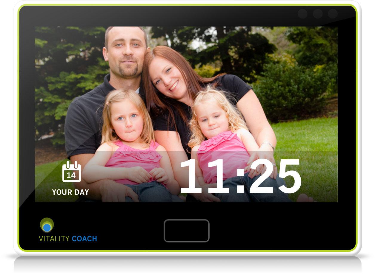 Telehealth Device Homescreen